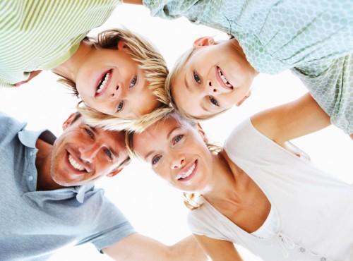 Das Einfamilienhaus »Sonnenseite« bietet genügend Platz für eine kleine Familie.