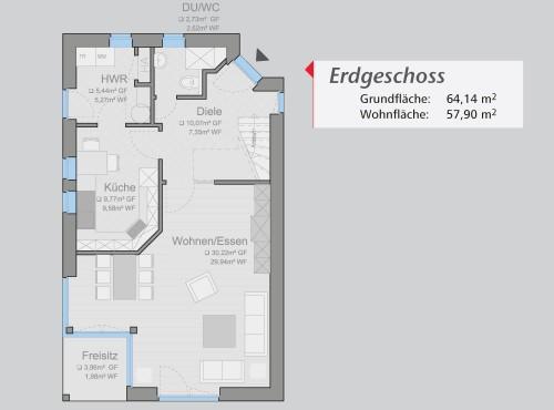 Grundriss »Life Style« Erdgeschoss